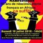 50 ans de neocolonialisme francais en Afrique ca suffit