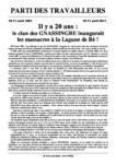 Il y a 20 ans : le clan des GNASSINGBE inaugurait les massacres à la Lagune de Bè !