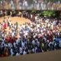 Rassemblement des étudiants en assemblée générale, mardi 14 juin