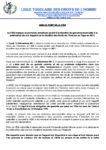 Droits-Humains-Togo 2011.12.14 LTDH Mise au point Rapport 2011