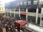 Lomé : Incendie du Marché