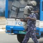 Togo: La marche de protestation du CST violemment dispersée à Lomé par la police