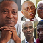 Les leaders de l'opposition parlementaire togolaise | Infog : 27avril.com