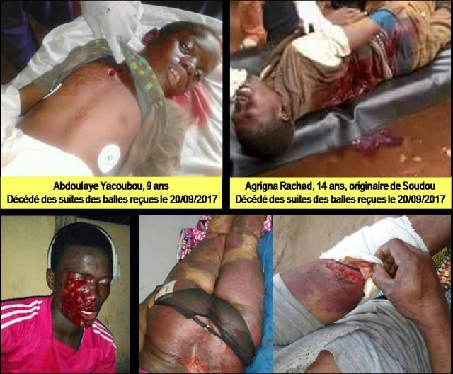 victimes de la dictature togolaise